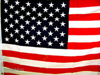 "Patriotic 36"" x  62"" AMERICAN FLAG USA ~ New"