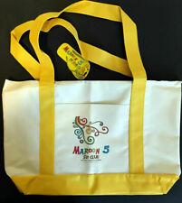 Maroon 5 S.I.N 2017 Fan Club Canvas Summer Tote Bag * Brand New *