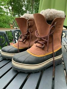 Sorel Caribou Winter Insulated Waterproof Boots Size 10