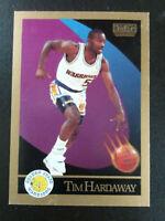 Tim Hardway Rookie-1990/91 Skybox Basketball-nrmt/mint-no.95-Golden State Warrio
