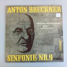 LP Anton Bruckner Filarmonica 9 Eduard van Beinum Concertgebouw Amsterdam eterna