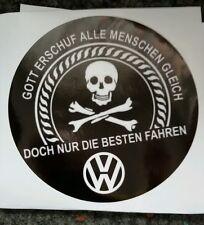 Aufkleber VW Golf Polo Passat Ratte Winterauto Tuning MK Volkswagen Fanartikel