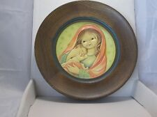 Vintage 1978 Anri Juan Ferrandiz Mothers Day Plate Schmid w/ Box