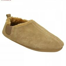 MENS CLARKS WARM LINED SUEDE LEATHER SLIPPER KITE INDIE