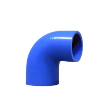"CX 2"" -1.75"" 90 Degree Blue Silicon Hose Reducer Elbow For Intercooler Radiator"