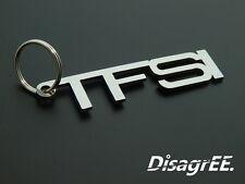 """Schlüsselanhänger """"TFSI"""" - Golf A3 Polo A4 S3 GTI - hochwertiger Edelstahl"""