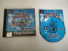 Micro Maniacs - PLAYSTATION 1 PS1 GAME - Complete
