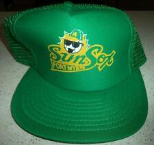 Fort Myers Sun Sox Senior League Professional Baseball Speedway Cap Hat
