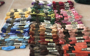 123 Skeins DMC Embroidery Floss New No Duplicates