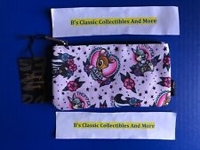 Loungefly Bambi Zip Pouch,Tattoo Print, Cosmetic/Coin Bag, Pencil Pouch New!