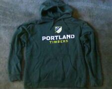 Portland Timbers MLS Logo Hoodie Sweatshirt: Mens Large