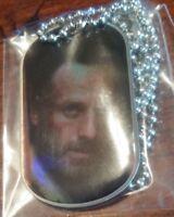 The Walking Dead Dog tags Rick Grimes season 4 tag 2 of 12 LITHOGRAPH