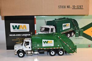 First Gear 1/34 Scale Freightliner Rear Loader Truck Waste Management 10-3287