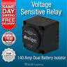 12v 160 amp DUAL BATTERY SYSTEM VOLTAGE SENSITIVE RELAY Heavy Duty 4wd/ Camper