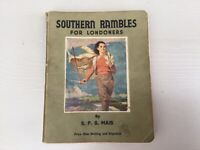 Southern Rambles For Londoners SPB MAIS 1949 Second Edition