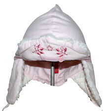 Catimini T1 6-12 Months Pink Stripe Hat and Mittens NWT SP £40