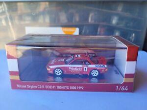 INNO64 NISSAN SKYLINE GTR R32 BATHURST TOOHEYS 1000 WINNER 1/64 POP RACE