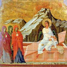 Art Proto Renaissance Marys Mural Tumbled Marble Decor Backsplash Tile 2610