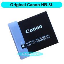 Original Canon NB-8L Battery for PowerShot A3300 A3200 A3100 A2200 A1200 CB-2LA