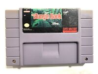 The Jungle Book Super Nintendo SNES Game Cartridge - Authentic, Tested & Working
