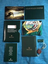 Oyster booklet set from 2003 Rolex Submariner booklet + Your Rolex
