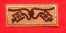 4 BEADS KNOT~ Wood Badge Award Patch Boy Scout Course