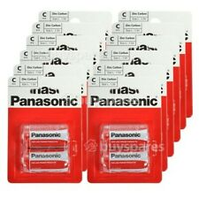 24 x Panasonic C Battery Heavy Duty Universal Cell Batteries R14, Fast delivery,