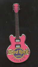 Hard Rock Cafe Chicago Hotel Core Guitar Pin
