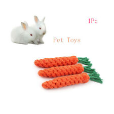 Cute Pet Chew Toy Straw Carrot Shap On The Cob For Hamster Rabbit Play Toys New