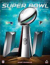 Super Bowl 51 Program New England Patriots vs. Atlanta Falcons - NEW!