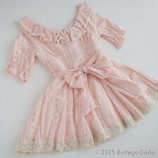 Cambric Summer Pink Tunic Dress Front Tie LIZ LISA Hime gyaru Lolita 109