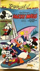 Micky Maus - Sammlung  1986 Heft 1 bis 52 (Nr.27 / 34 fehlt )