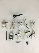 Star Wars Clone Trooper Action Figure 3.75 Army Builder Lot of 9