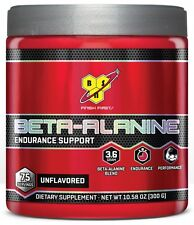 BSN Beta Alanine 300g 75 Servings Unflavored Exp 2019-2020 Free Shipping