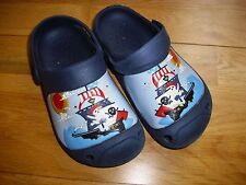 Boys croc style pirate summer slip on shoes size 11UK or 29EU great condition