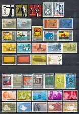 Nederland jaargangen 1965 - 1969 ongebruikt (zonder blokken en Juliana Regina)