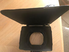 Vocas FX 15mm Rod Or Clip On Mattebox Matte Box 4x4 with 1 Rotating Filter Tray