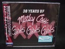MOTLEY CRUE XXX: 30 Years Of Girls, Girls, Girls + 5 JAPAN CD Sixx:AM Brides Of