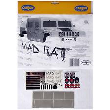 Decal Sheets 1:10 MAD RAT Hummer Carson 50069116 800092