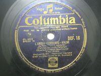 "TINO ROSSI DCF 16 ENGLAND RARE 78 RPM RECORD 10"" BLACK VG-"
