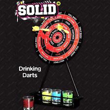 Solid Bere Freccette Party Game Stag Do magnetico FRECCETTE DART BOARD & BICCHIERINI DA LIQUORE