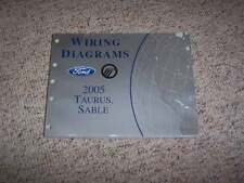 2005 Ford Taurus Electrical Wiring Diagram Manual SE SEL 3.0L V6
