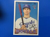 2016 Topps Heritage High # WHIT MERRIFIELD RC Rookie Card #683 KC Royals