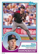 2018 Topps Series 1 1983 #/49 5x7 #83-83 Paul Goldschmidt - Arizona Diamondbacks