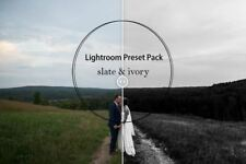 slate & ivory - Lightroom Preset Pack | Black & White