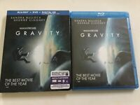 Gravity (Blu-ray +DVD 2013, Includes Digital Copy 2-Disc set)