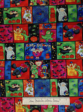South Sea Imports Fabric - Halloween Dog Bear Cat Costume Patch YARDS