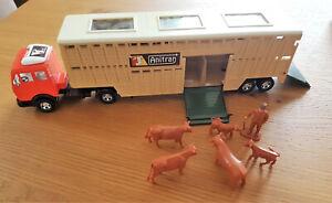 Matchbox Superfast Mercedes Benz Animal Transporter K-8 von 1980