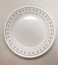 Corelle Normandy Red White Blue Floral Bread Dessert Plate Dish Discontinued
