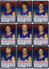 2009 AFL Teamcoach Silver Cards -  Western Bulldogs (10)